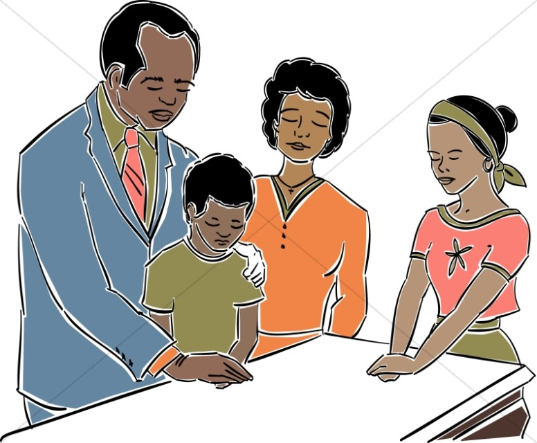African American Pastor Clipart | Church People Clipart
