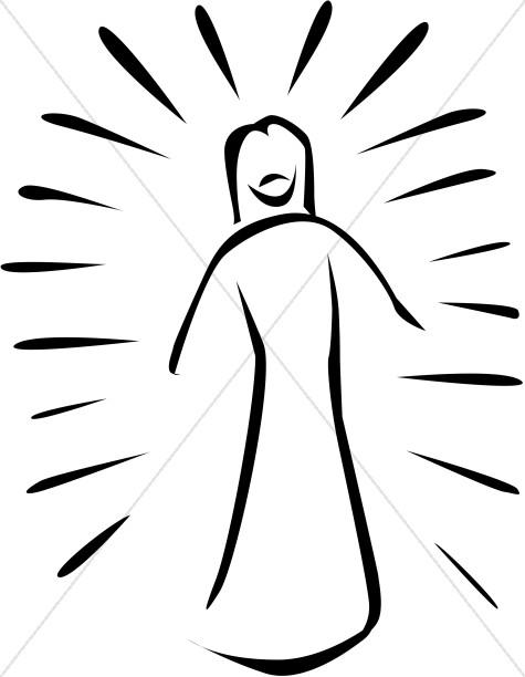 Jesus Preaching Cartoon