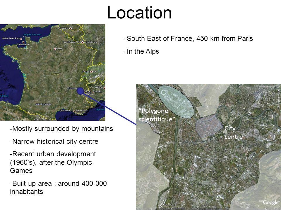 Grenoble Map France Latitude Longitude Free Maps