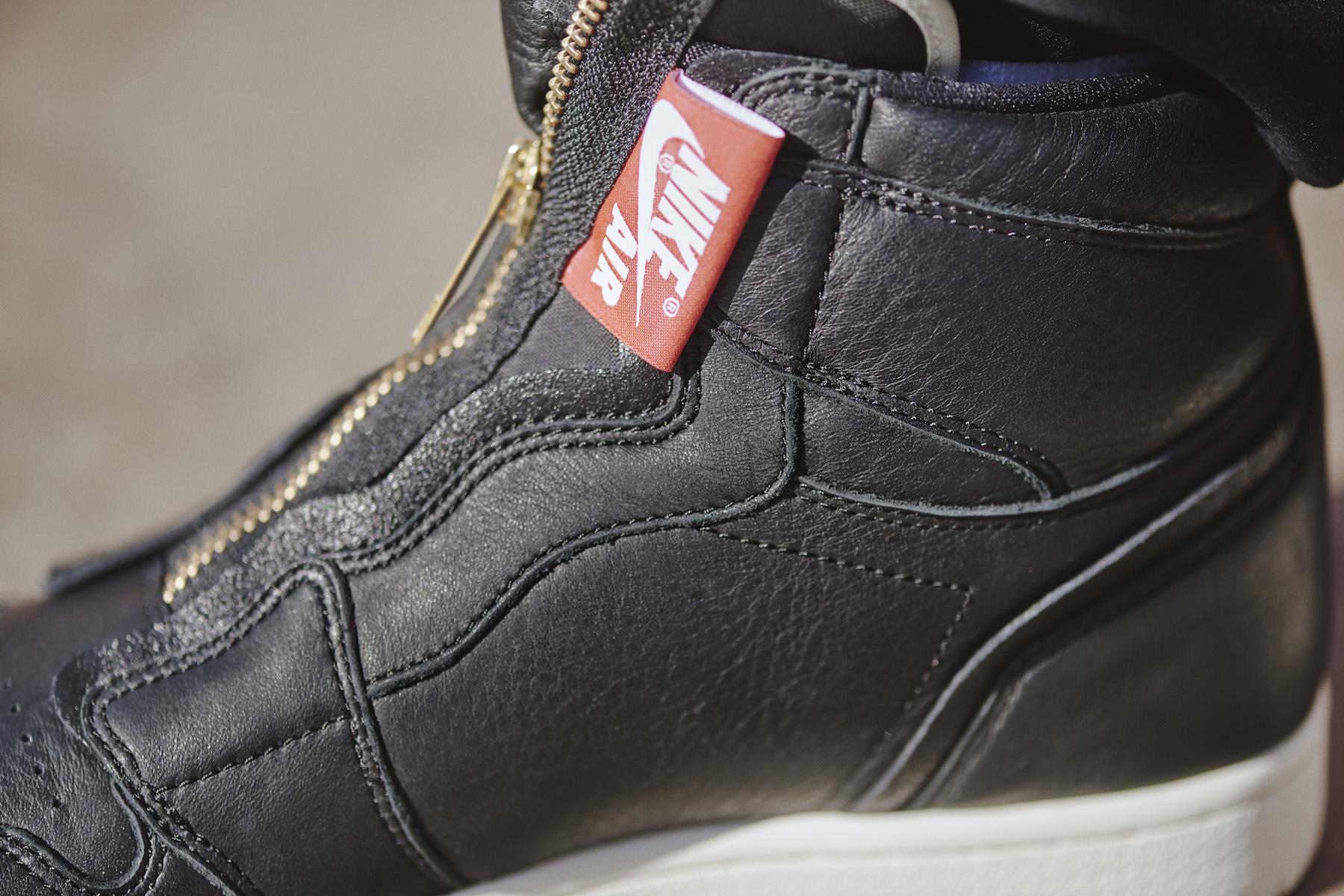 Jordan Shoes Zipper