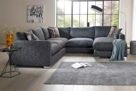Corner Sofas in leather  fabric   Sofology Saved