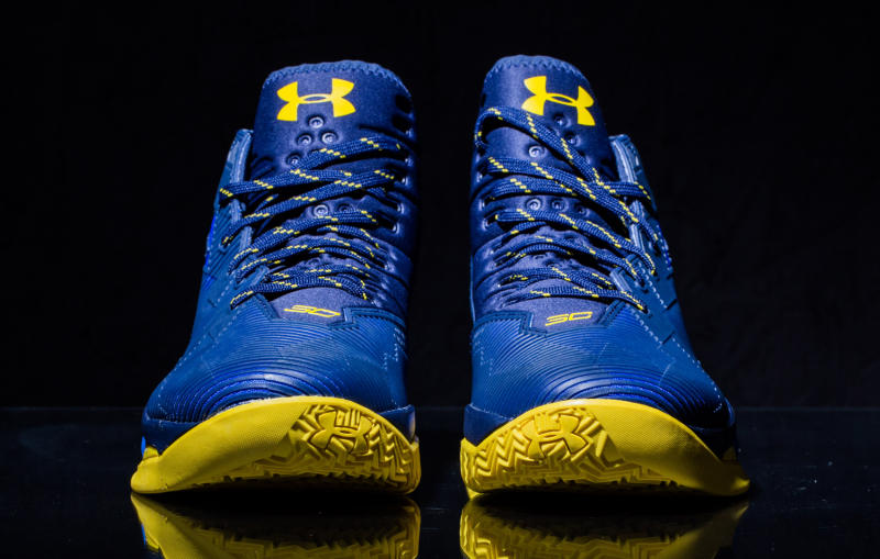 Picture Nike Adidas And Under Armour Shoe