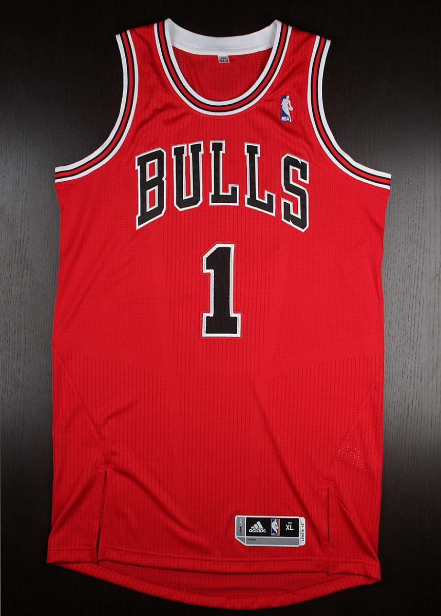 Jersey Spotlight // Derrick Rose Chicago Bulls adidas ...