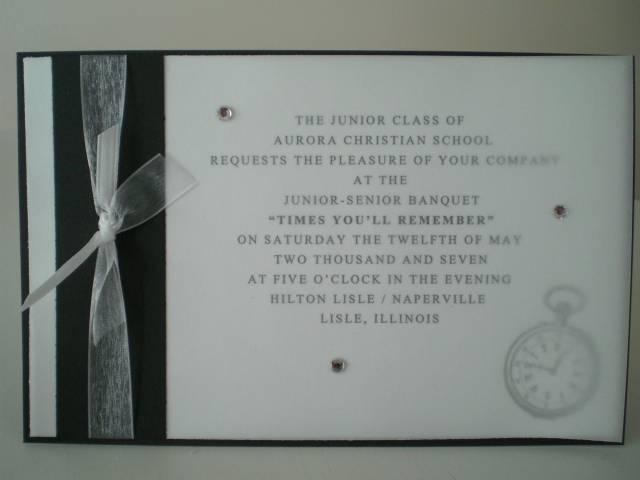 Sample Invitation Wording