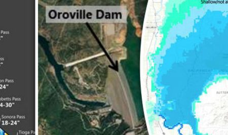 HD Decor Images » Oroville Dam  Latest MAPS of dam area  flood risk  evacuation     Oroville Dam  Latest MAPS of dam area  flood risk  evacuation   World    News   Express co uk