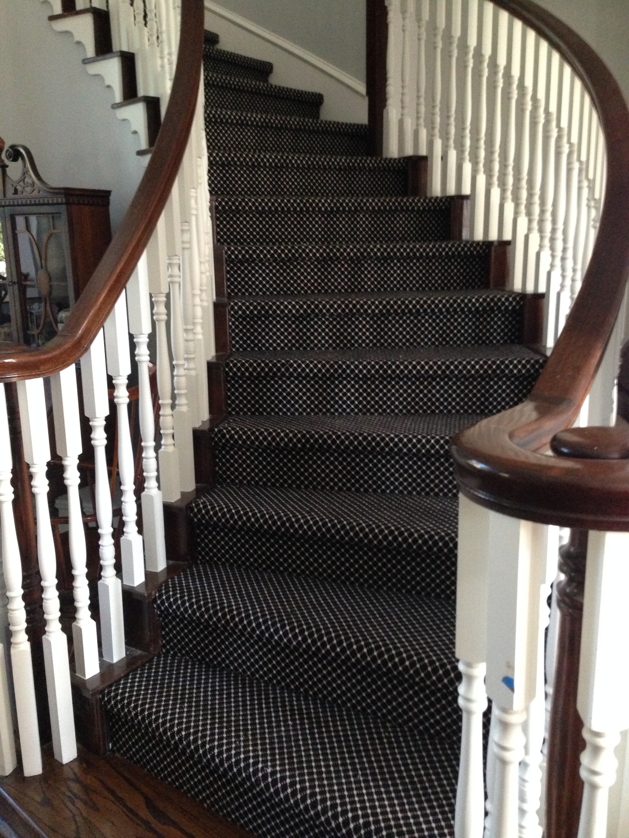 Should I Carpet My Stairs With The Same Carpet I Use Upstairs | Redoing Carpeted Stairs To Wood | Hardwood Floors | Stair Tread | Stair Risers | Stair Case | Staircase Remodel