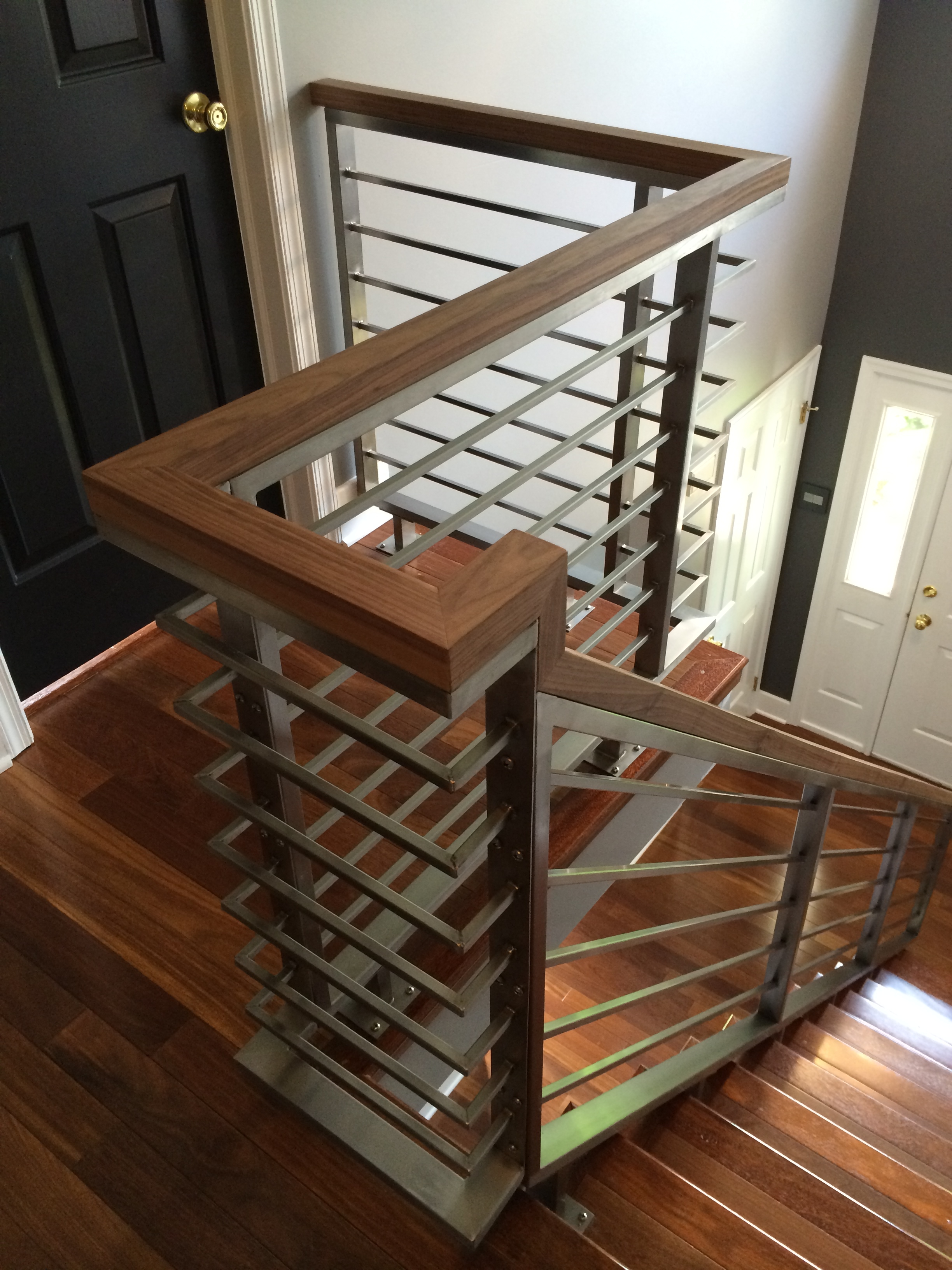 Railings — Capozzoli Stairworks   Contemporary Banisters And Handrails   Outdoor Stair   Glass   Picket   Rustic   Traditional