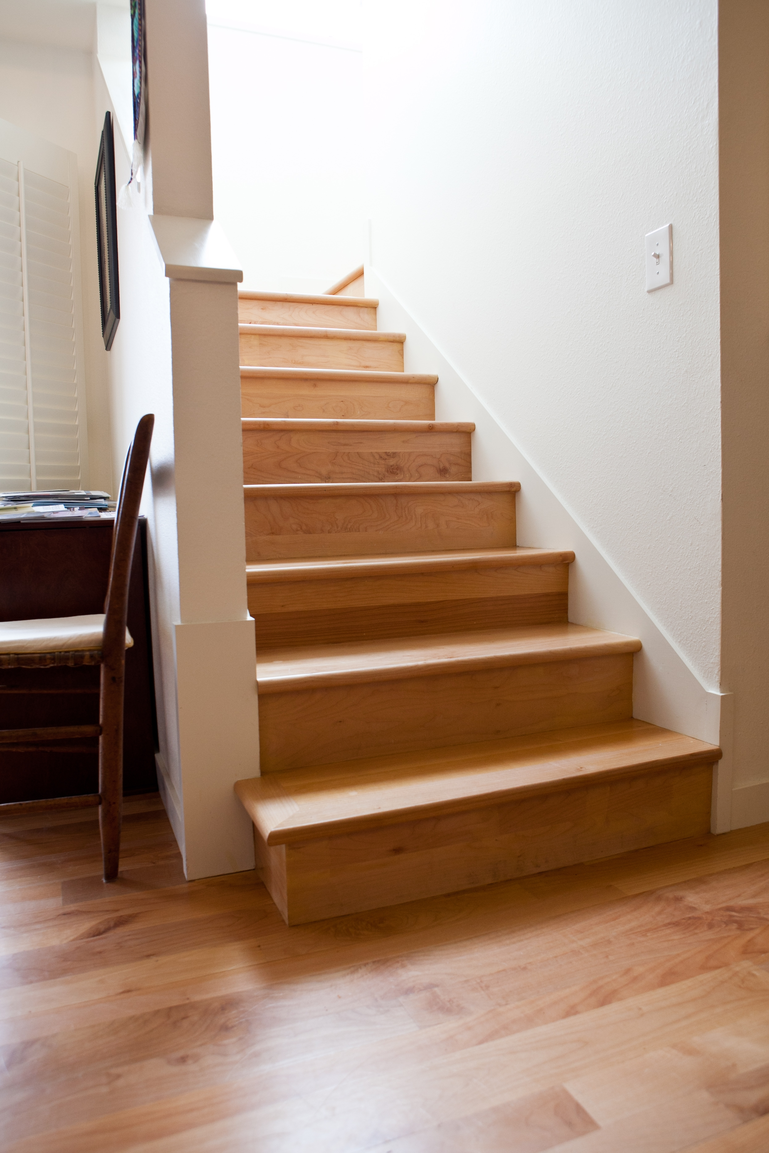 Custom Made Stair Parts — Zena Forest Products Salem Or   Matching Stairs To Hardwood Floors   Laminate Flooring   Refinishing Hardwood   Stain   Staircase   Wide Plank