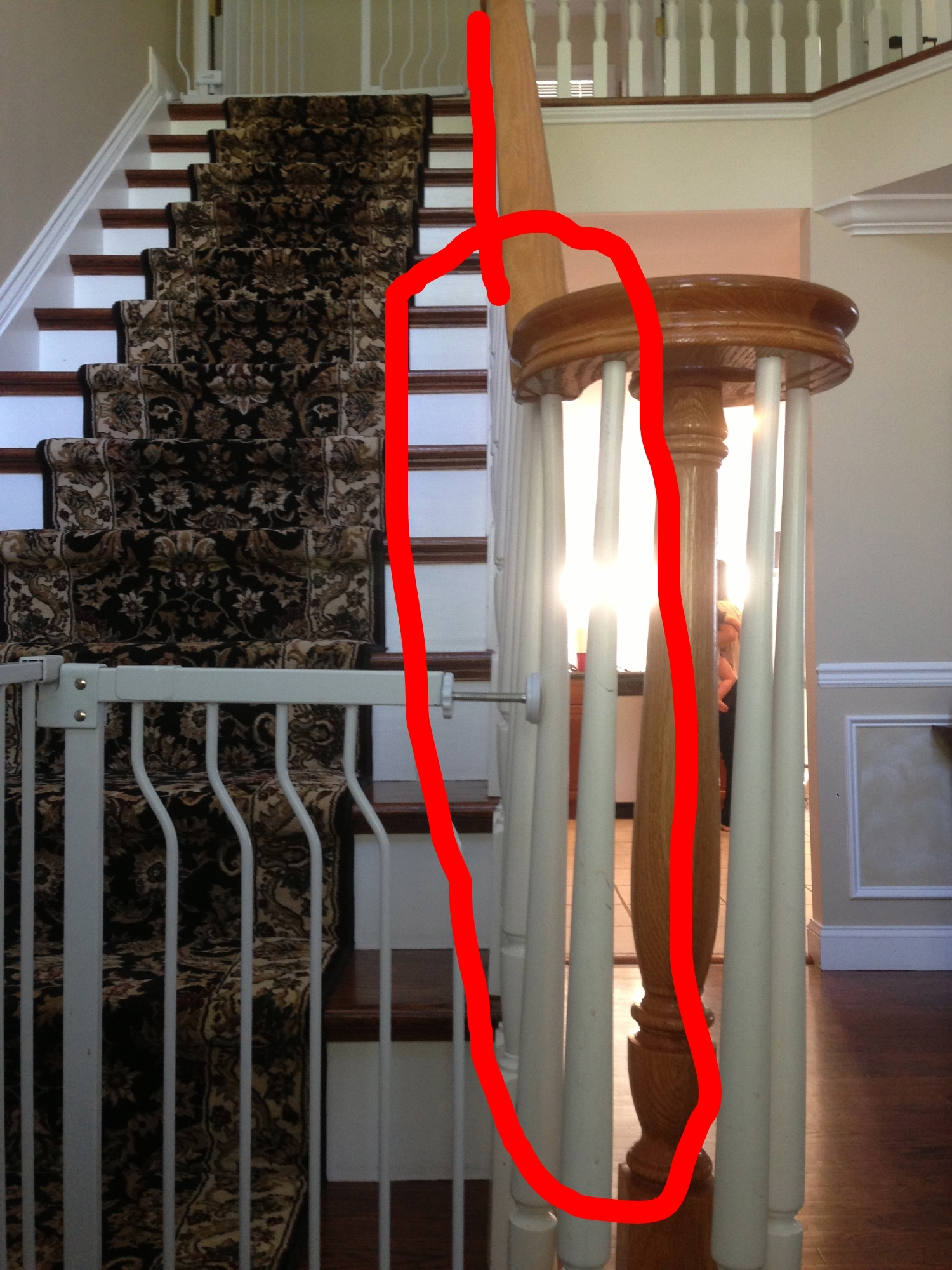 What Not To Do — Baby Proofing Service Long Island N Y C | Long Island Custom Railings | Wrought Iron | Aluminum Railings | Staircase | Stairs | Porch