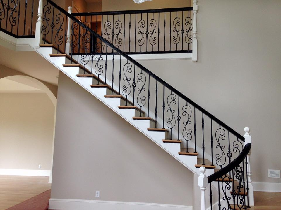 Master Fabrication — Wrought Iron Staircase Design Center | Wrought Iron Stair Railing Near Me | Wood | Railing Ideas | Spindles | Ornamental Iron | Iron Balusters