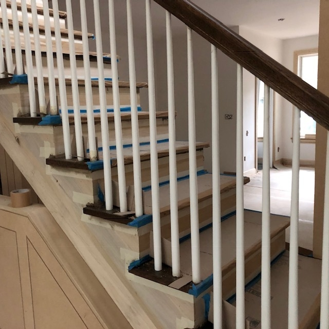 Architect S Glossary Balusters Pickets Spindles Posts | New Banister And Spindles | Stair Treads | Iron Stair | Oak Banister | Iron Balusters | Floating Stairs