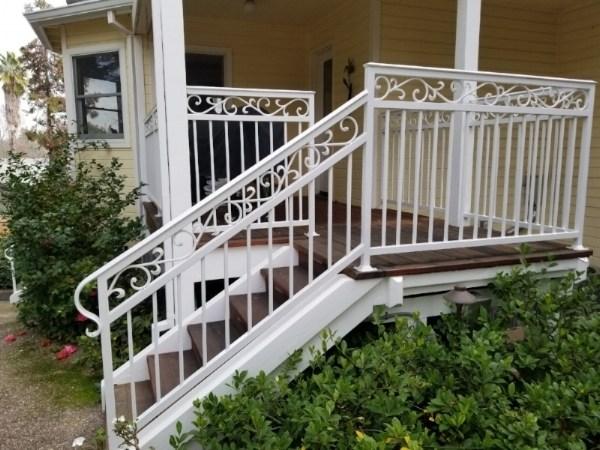 Irish Iron Best Sacramento Ironworks Metal Gates   Iron Handrails For Steps   Hand   Iron Railing   Iron Picket   Craftsman Style   Double Storey House
