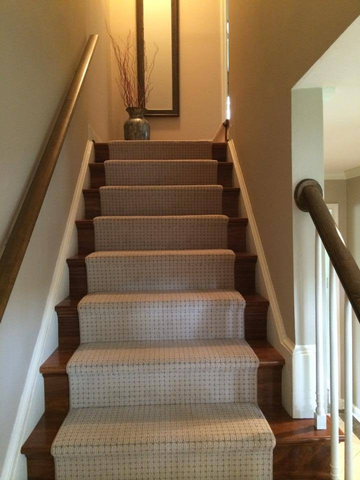 Carpet On Stairs — Photo Gallery Of Our Latest Hardwood | Hardwood Floors With Carpeted Stairs | Wall To Wall Carpet | Painting | Laminate Hall Carpet | Carpet Covered | Carpet Wrapped