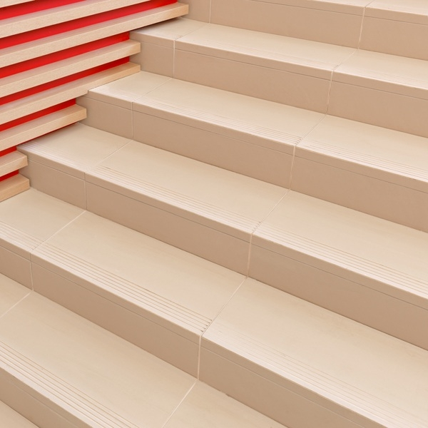 Tiling Stairs — Tile Direct | Stairs Tiles Design For Home | Readymade Staircase | Duplex House | Style Kerala | Railing | Porcelain