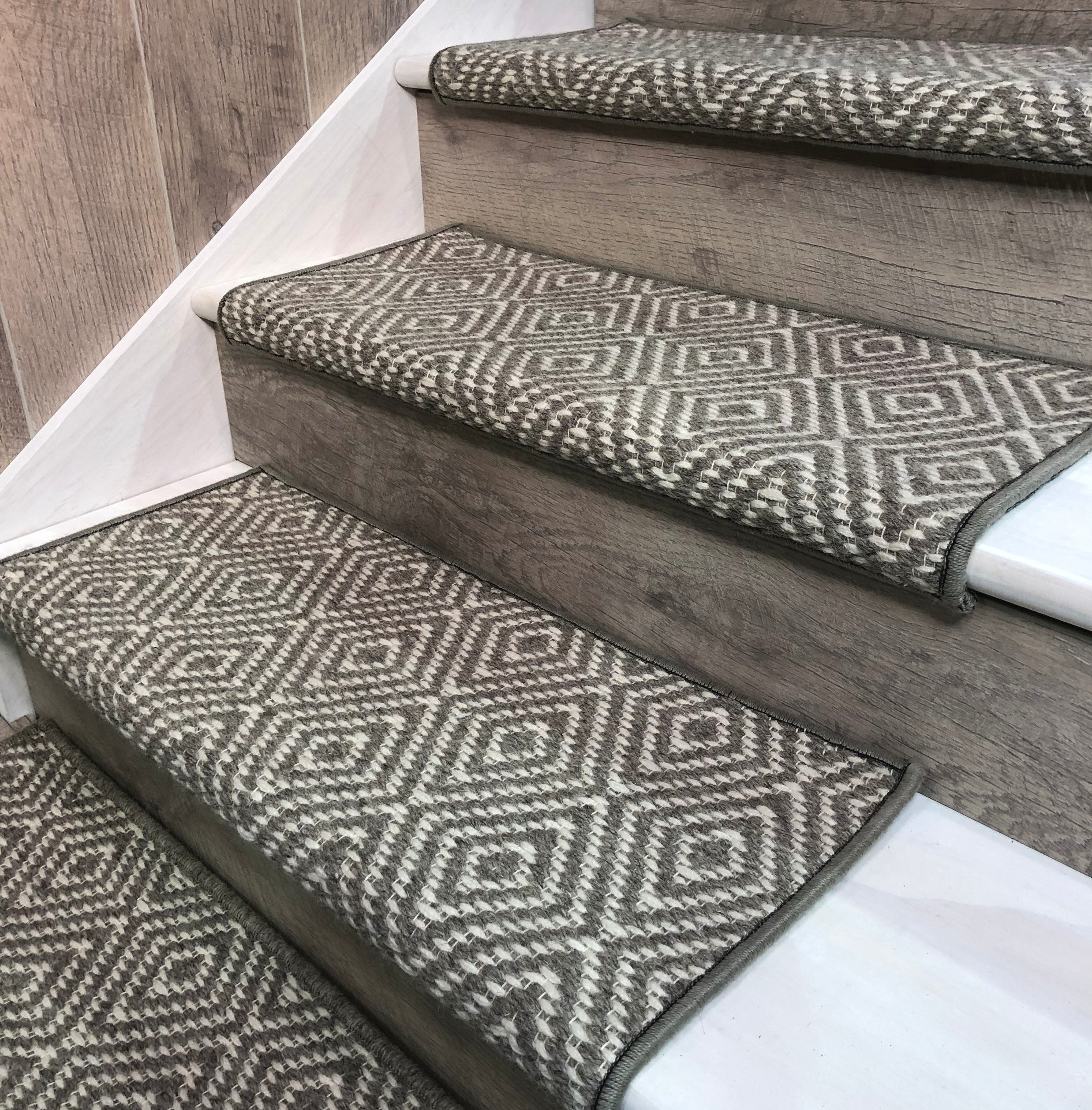 Stair Tread Shapes   Stair Treads For Carpeted Steps   Carpet Protectors   Skid Resistant   Bullnose Carpet   Anti Slip Stair   Wood