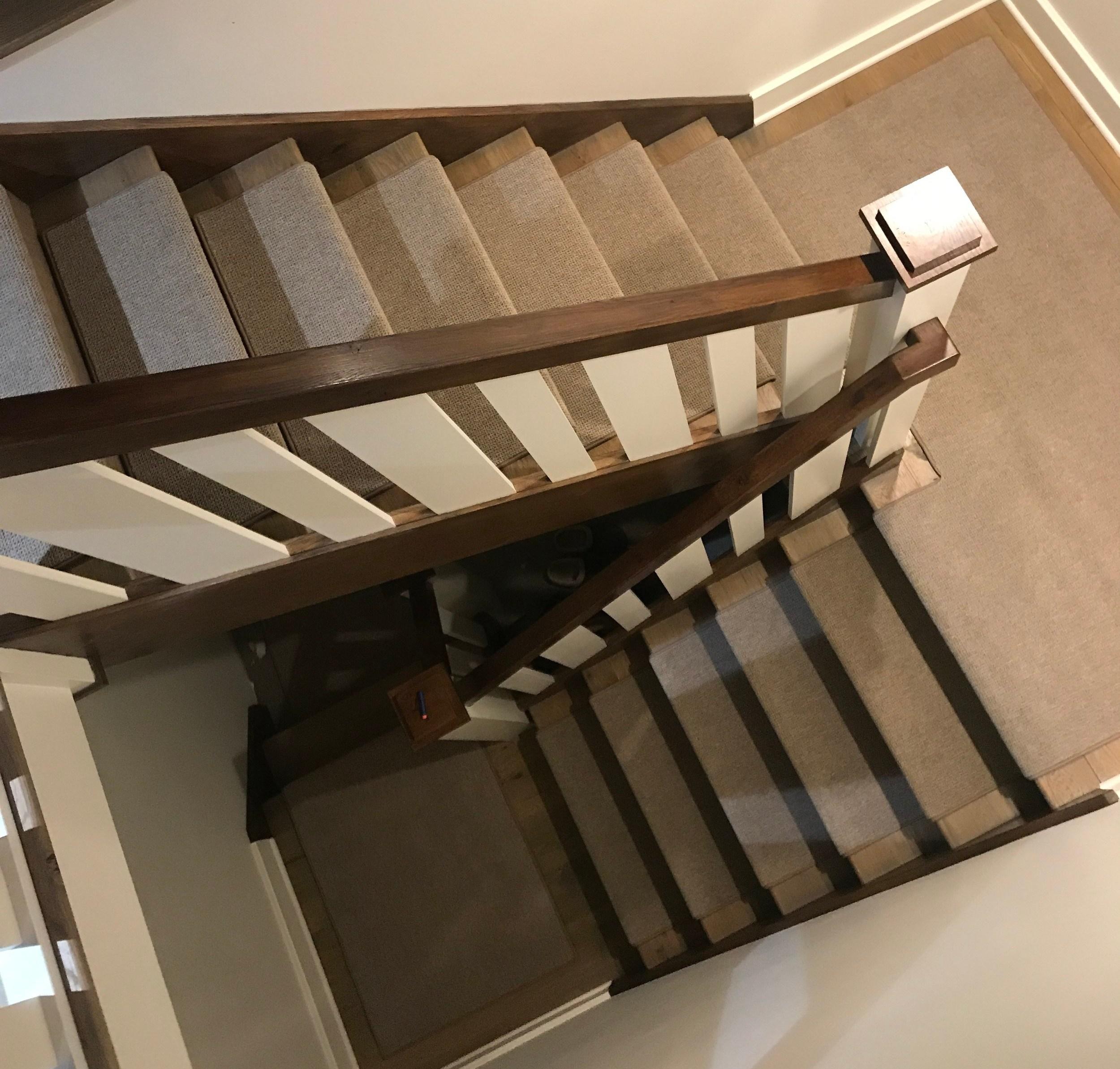 Indoor Carpet Stair Treads Oak Valley Designs   Wool Carpet Stair Treads   Zealand Wool   Bullnose Padded   Flooring   Plush Carpet   Cat Pet