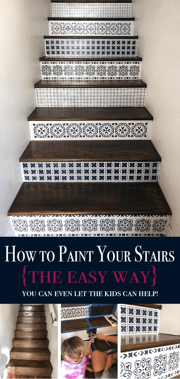 How To Paint Wood Stairs With Chalk Paint — Bb Frösch   Best Wood For Stair Risers   Hardwood Flooring   Paint   Stair Tread   Spindles   Wooden Stairs
