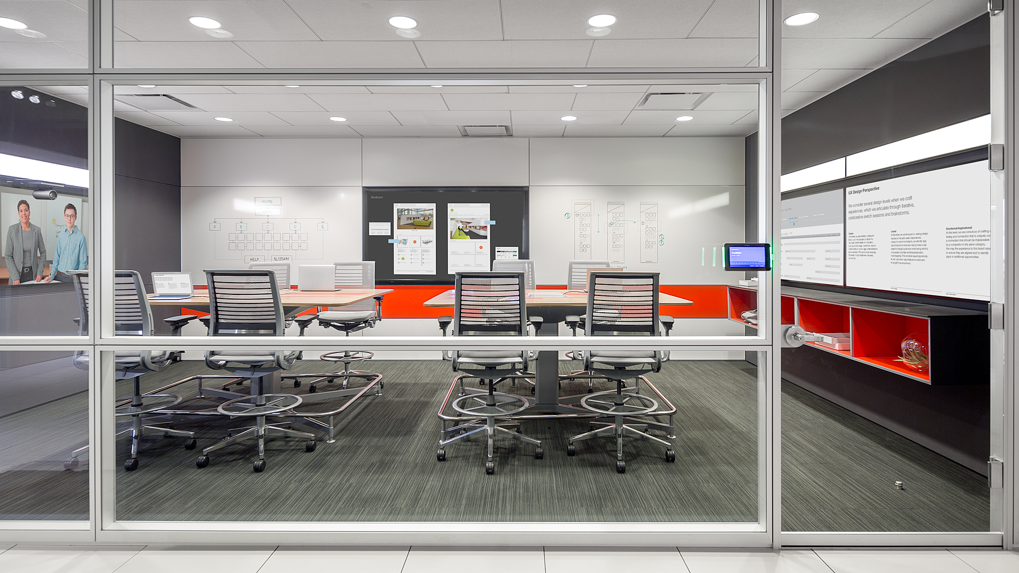 Steelcase Showcases Intelligent Office Concept Product