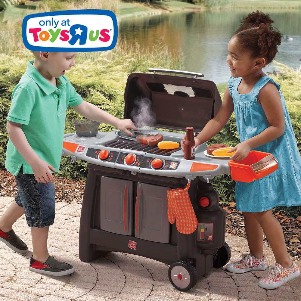 Home Depot 174 Sizzle Amp Smoke Barbeque Grill Retailer
