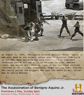 The making of History Channel's Ninoy Assassination docu