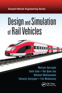 Design and Simulation of Rail Vehicles   CRC Press Book