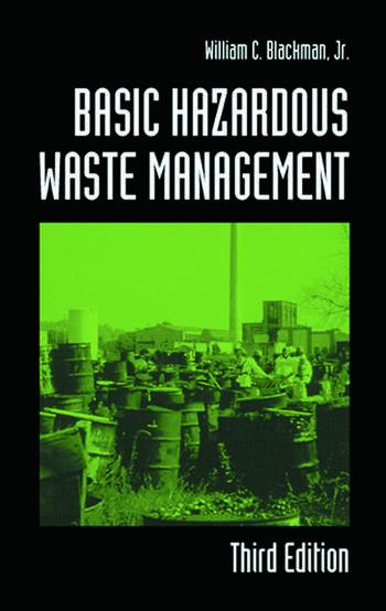Basic Hazardous Waste Management Crc Press Book
