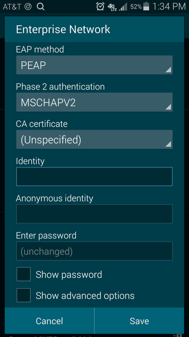 What Security 8021x