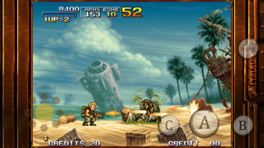 20 classic games you can play on your Android phone   Greenbot classic games metalslug3  See larger image