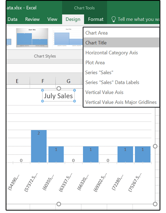 Excel Horizontal Axis X Axis