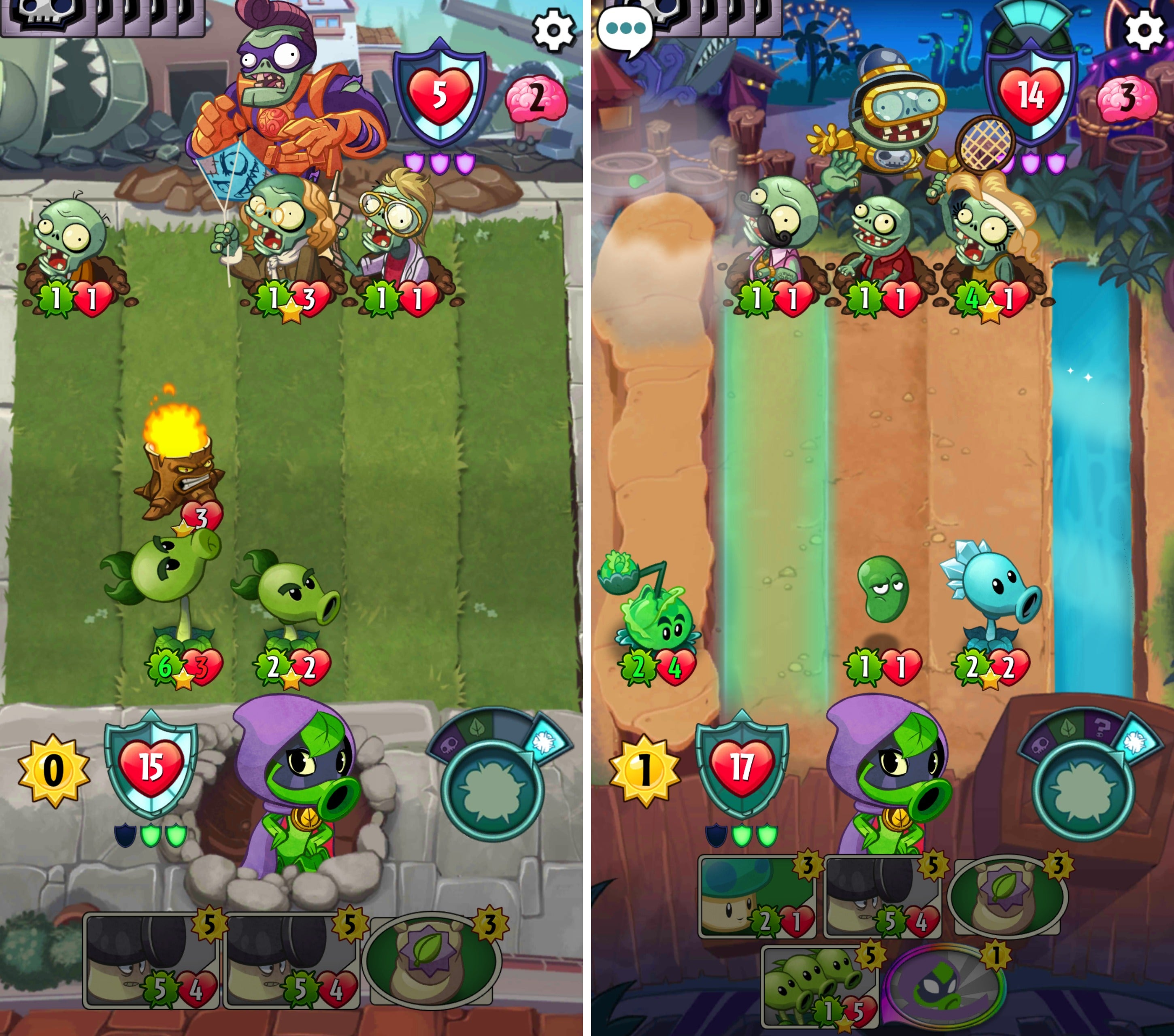 The best free Android games of 2016   Greenbot free android games 2016 pvzheroes  See larger image