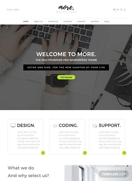 Free Templates   Template net Free Multipurpose Website Template
