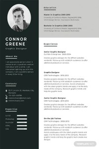 Free Resume Templates   Download Ready Made   Template net Experience Resume Template