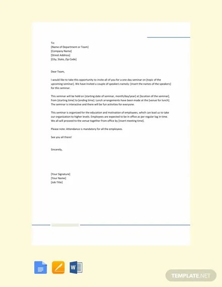 FREE Medical Leave Letter for Office Template: Download ...