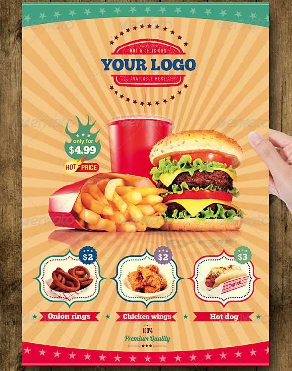 Lunch Menu Restaurant Ideas