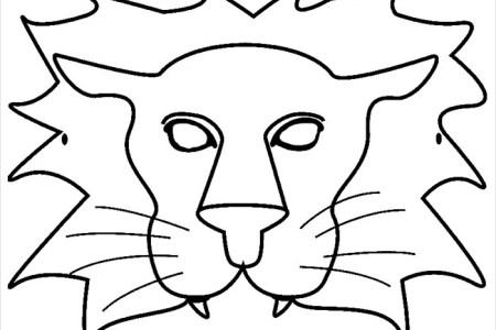 cheetah mask template » Invoice Templates 2018   Invoice Templates