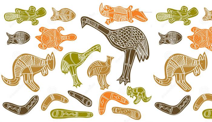 Aboriginal Animal Art Templates