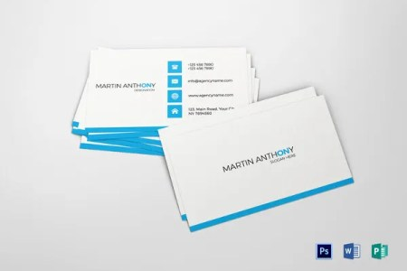 53  Best Premium Business Card Template Designs   Free   Premium     Simple Business Card Template