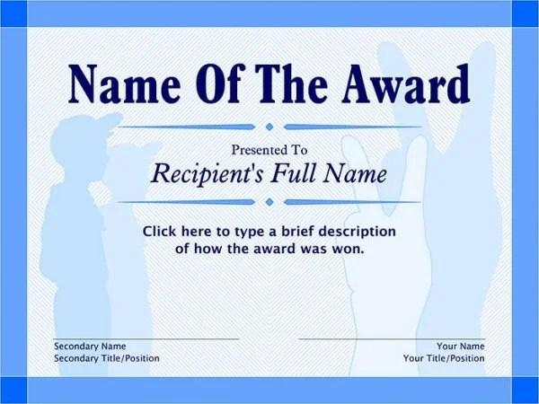 Boy Scout Certificate Award Templates