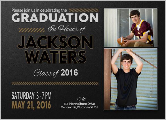 Senior Graduation Party Invitations