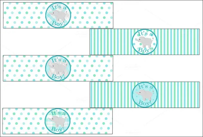 Baby Shower Candle Party Favors