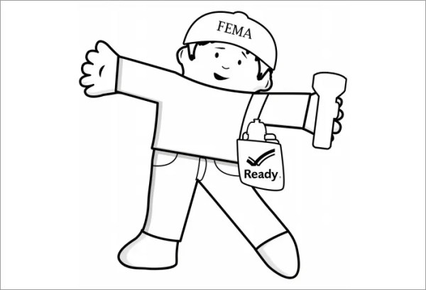 flat stanley coloring page # 8