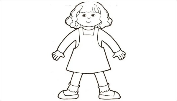 flat stanley coloring page # 41