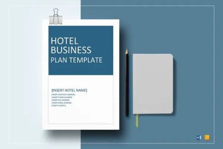 Restaurant Business Plan Template   10  Free Word  PDF Documents     Hotel Business Plan