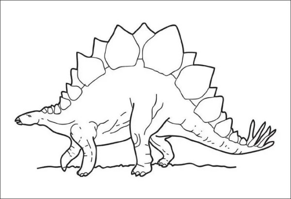 free printable dinosaur coloring pages # 9