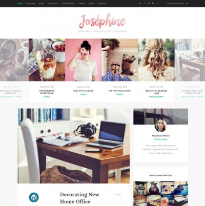 15+ Lifestyle Blog WordPress Themes & Templates   Free ...
