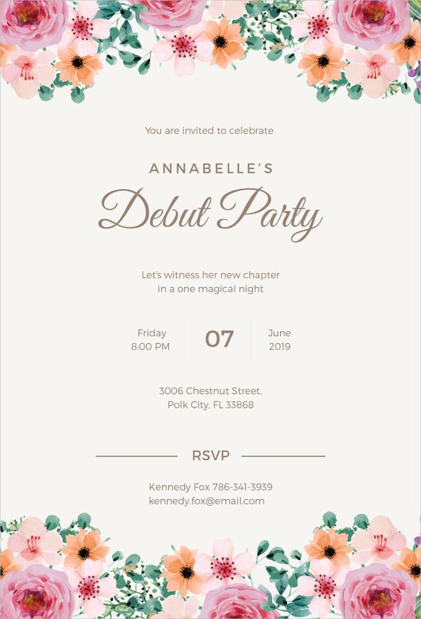 Formal Invitation Wedding