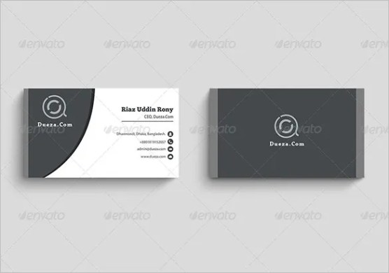 Visiting Card Template     21  Free Sample  Example Format Download     Modern Visiting Card PSD Design