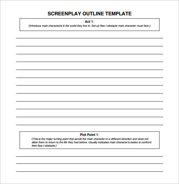 Outline Template Printable Sample Sermon