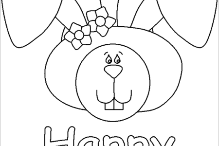 Easter Bunny Face Coloring Pages Mapiraj Fresh Collection Free Book Download