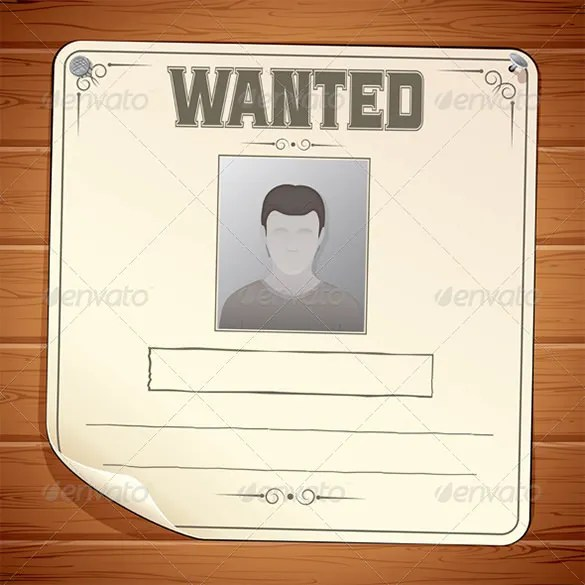 One Piece Wanted Poster Template